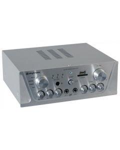 SKYTRONIC VV-1 Vahvistin alumiini USB & SD