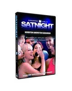 SATURDAYNIGHT Karaoke vol 3 karaoke DVD levyltä