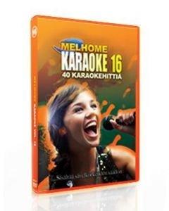 MELHOME Vol 16 KARAOKE DVD Levyllä on 40