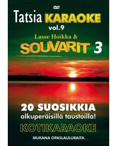 TATSIA Kotikaraoke Vol 9 Souvarit 3-DVD karaoke