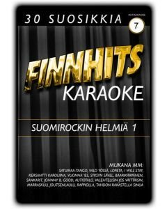FINNHITS VOL 7-Suomirockin helmiä 1 DVD Karaoke