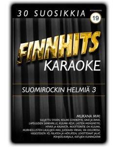 FINNHITS VOL 19 Suomirockin helmiä 3 DVD Karaoke
