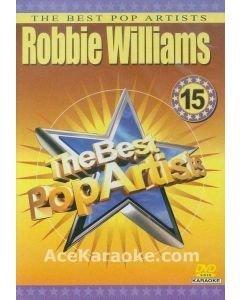 POISTO DVD-1015 Robbie Williams Karaoke DVD 01 The