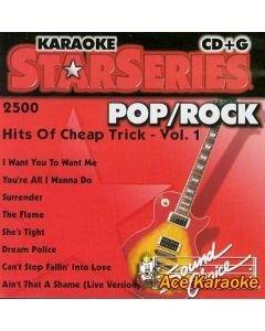 POISTO Sound Choice Cheap Trick Vol 1 Karaoke CDG