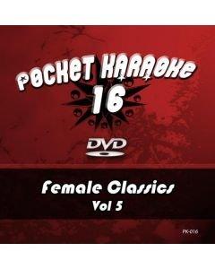 POISTO Pocket Karaoke Vol 16 - Female Classics Vol