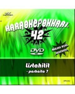 KARAOKEPOKKARI DVD Karaokepokkari 42 -Listahitit
