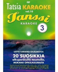 TATSIA Kotikaraoke Vol 10 Tanssi 3 karaoke DVD