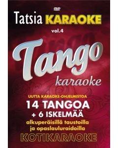 TATSIA Kotikaraoke Vol 4 Tango - DVD, tällä