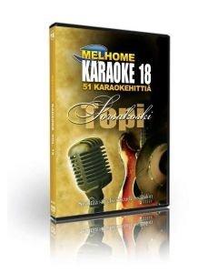 MELHOME Vol 18 KARAOKE DVD Topi Sorsakoski on