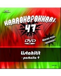 KARAOKEPOKKARI DVD Karaokepokkari 47 - Listahitit