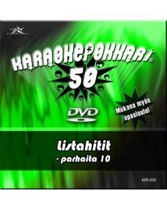 KARAOKEPOKKARI DVD Karaokepokkari 50 - Listahitit