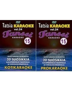 TATSIA Kotikaraoke Vol 24 Tanssikaraoke 15-DVD 01
