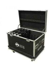ADJ AV6FC Kuljetuslaatikko kahdeksalle AV6X