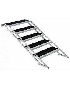 POWERDYNAMICS Säädettävät portaat 80-140cm