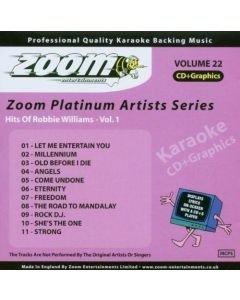 POISTO Robbie Williams CDG karaoke VOL 1 1  Let Me