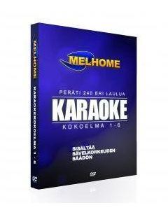 MELHOME Vol 1-6 karaokekokoelma 240 kappaletta