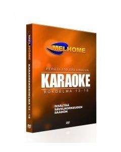 MELHOME Vol 13-18 karaokekokoelma 240 kappaletta