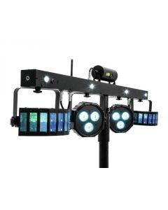 EUROLITE LED KLS-valosetti FX Laserilla 4-yhdessä