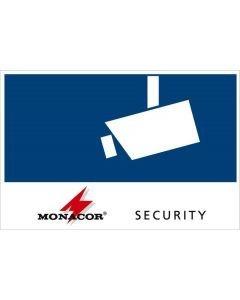 MONACOR CCTV-LABL/OS Tarra Security ulkopuolelta