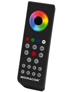 MONACOR CU-40T radio kaukosäädin RGB ja RGBW led