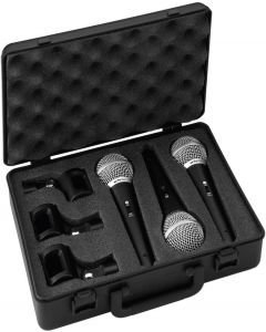 IMG STAGE LINE DM-3SET Mikrofonisetti, kolme