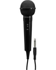 MONACOR DM-70/SW Dynaaminen mikrofoni kiinteällä