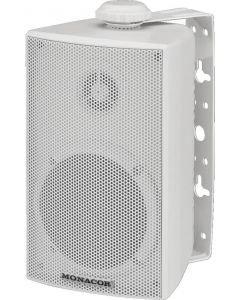 MONACOR ESP-215/WS IP65 Kaiutin 100V/8Ω järjestelmään 1,5/2,5/10/15W ja 8Ω 30W