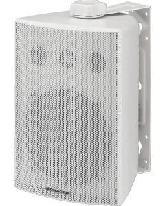 MONACOR ESP-230/WS IP65 Kaiutin 100V/8Ω järjestelmään 2,5/5/10/20/30W ja 8Ω 50W