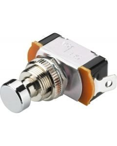 MONACOR FS-10 Momentary foot switch, Push  ON, For