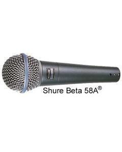 SHURE SM58 Beta58A - ammattitason laulumikrofoni