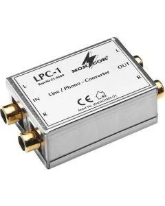 MONACOR LPC-1 Linja-levysoitin tason adapteri RCA
