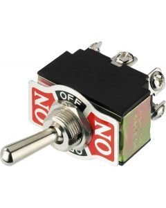 MONACOR MS-310 Toggle switch, With central fixing