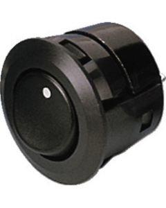 MONACOR MS-564/SW Rocker switch, 2 x ON, Snap-in