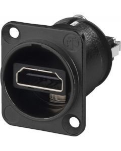 NEUTRIK NAHDMI-WB HDMI Runkoliitin musta Naaras