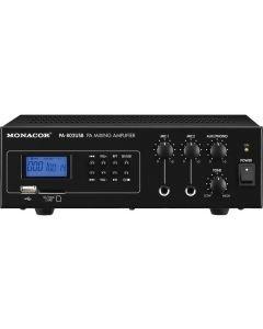 MONACOR PA-802USB PA mikserivahvistin USB-SD