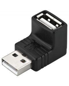 MONACOR USBA-30AA USB-adapteri 2,0 uros-naaras
