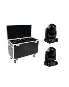 FUTURELIGHT Paketti 2x DMH-160 LED Moving-Head +