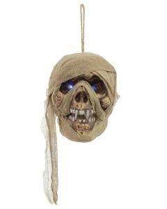 EUROPALMS Halloween muumiopääkallo 15cm