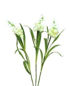 EUROPALMS 85cm Arum-kukkasetti 60 valkoista LEDiä