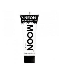 MOONGLOW Bodypaint - Valkoinen UV Neon kasvo ihomaali