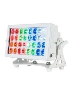 ADJ 32 HEX Panel Pearl IP65 LED-palkki 32x 12W RGBWA+UV-värit