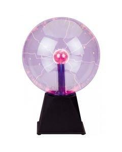 BEAMZ 20cm Plasmapallo, liikkuvat plasmasäteet musaohjaus tai kosketus