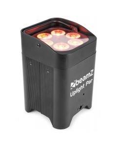 BEAMZ BBP96 6x12W RGBAW-UV akkukäyttöinen valonheitin