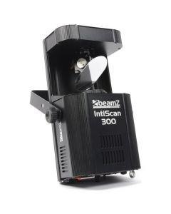 beamz-intiscan-300-scanner-30w-led-dmx-valkoinen led