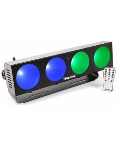 BEAMZ LUCID 1,4 LED DMX  BAR 4x10W COB RGB