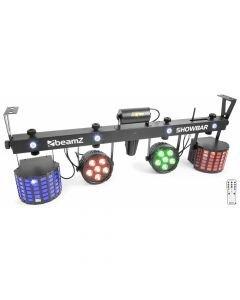 BEAMZ Showbar LED-valosetti 2x 12x8W led Par + 2x