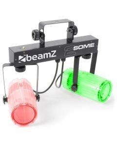 BEAMZ 2-Some LED-valosetti 3x57 RGBW LED