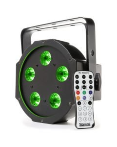 BEAMZ BFP120 LED FLAT-PAR Spotti 5x8W QUAD color