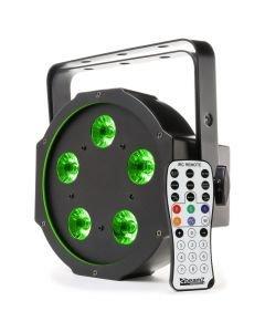 BEAMZ BFP120 LED FLAT-PAR Spotti 5x8W QUAD color