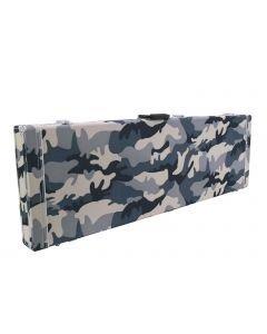 DIMAVERY Puinen kova laukku sähköbassolle camouflage